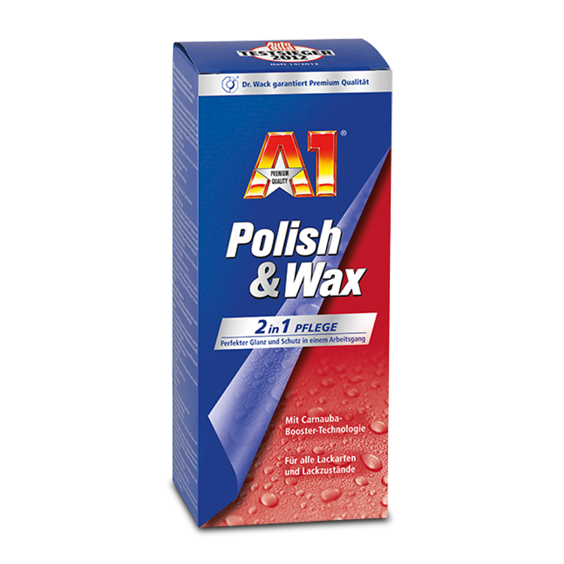 Dr.O.K.Wack A1 Polish & Wax 2 v 1 (250 ml)