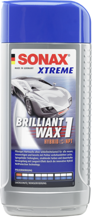 SONAX Xtreme Wax 1 Brilliant Hybrid NPT (250ml)
