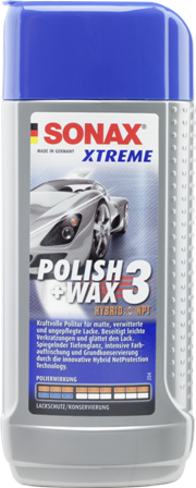 Sonax Xtreme Polish & Wax 3 NPT (250ml)