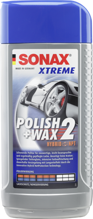 SONAX Xtreme Polish & Wax 2 NPT (500 ml)